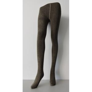 厚地針織褲襪(金紗棕)